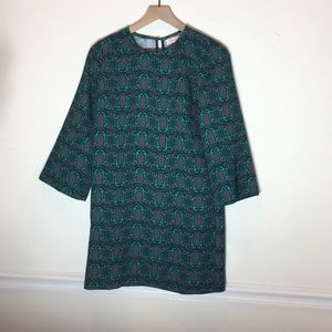 Traffic People  shift dress with pockets, size S